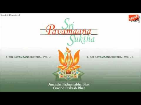 Sri Pavamaana Suktha Ananth Padmanabh Bhat.Govind Prakash Bhat