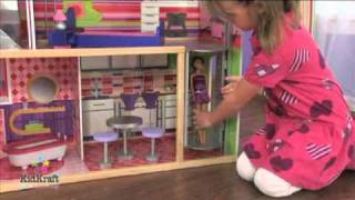Modern Dream Wooden Dollhouse Kidkraft 65256
