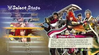 Samurai Warriors 4-II PC Xbox 360 button 1.2b TexMod