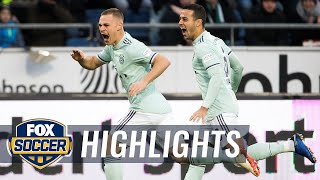 Josh Kimmich opens Bayern Munich vs. Hannover 96 match with a goal | 2018-19 Bundesliga Highlights