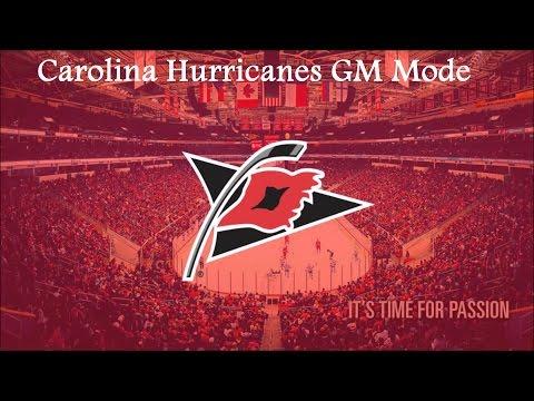 NHL 17 Franchise Mode Carolina Hurricanes Ep. 2 Rebuilding Plans