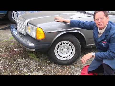 Hunting for Classic Mercedes: Rare Find