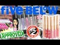 FIVE BELOW SHOP WITH MIMI!!! $1 to $5 MAKEUP + BEAUTY!!!!