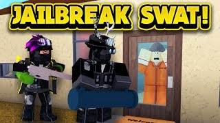 LE JAILBREAK SWAT TEAM IN BLOXBURG! (ROBLOX Bloxburg)