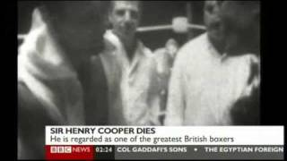 Sir Henry Cooper Dies: Tributes To Our