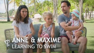 Anne & Maxime / Learning to swim in La Caravelle