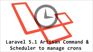 Laravel 5.1 Artisan Command and Scheduler to manage crons