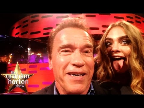 Arnold Schwarzenegger Impressions with Cara, Khaleesi, Tinie and Jake - The Graham Norton Show