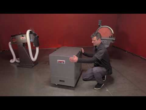 JET Cabinet Metal Dust Collector Demo