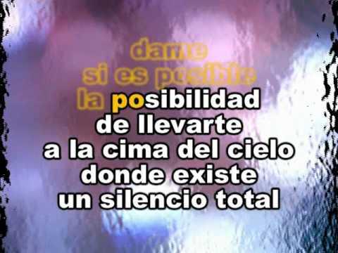 Ricardo Montaner La Cima Del Cielo Karaoke