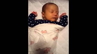 1 month old Annabelle snoring