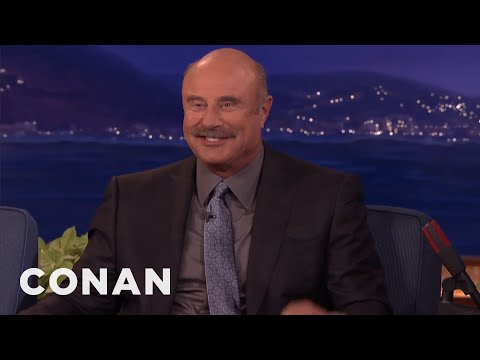 Dr. Phil McGraw Doesn't Think Conan REALLY Wants To Talk To Him   CONAN on TBS