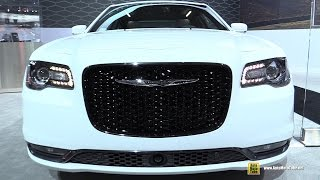 2015 Chrysler 300 S AWD - Exterior and Interior Walkaround - Debut at 2014 LA Auto Show
