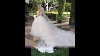 Знаменитости в свадебных платьях Vera Wang... Надежда Алексеева