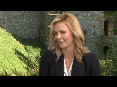 Charlize Theron on Shocking Snow White and the Huntsmen and Wanting More Time With Kristen Stewart