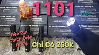 XẢ GIÁ SỐC ĐÈN PIN CHÍCH ĐIỆN Z1101 | đèn pin tự vệ 1101 | vũ khí tự vệ mini | đồ tự vệ hợp pháp