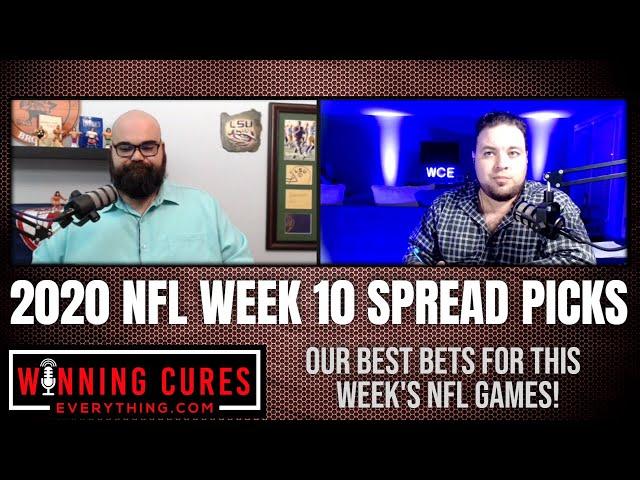NFL 2020 Week 10 Best Bets Picks Against the Spread!