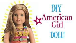 "DIY 18"" AMERICAN GIRL DOLL"