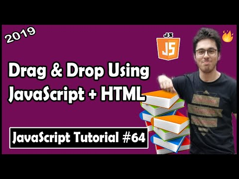 Drag & Drop Elements With JavaScript And HTML | JavaScript Tutorial In Hindi #64