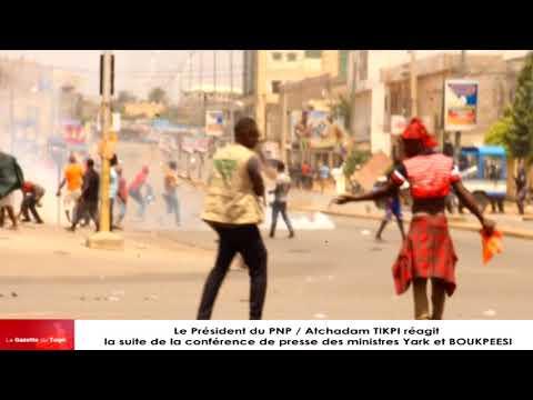 Intervention musclée des forces de sécurité à la marche du PNP à Lomé