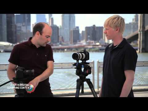 Canon EOS HD Video Tutorials: Tripod Systems
