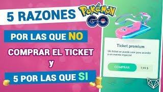 NO COMPRES EL TICKET ANTES DE VER ESTE VIDEO 💰 - Pokemon Go [LioGames]