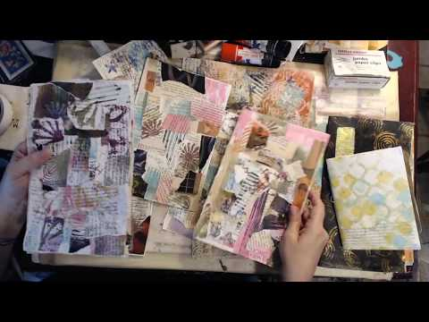 Craft & Chat... junk mail journal