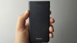 Тонкий Power Bank EasyAcc на 10000mAh!