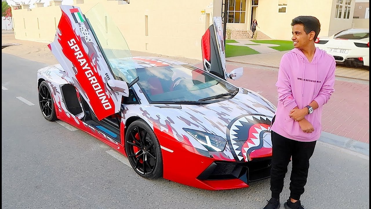 Richest Kid In Dubai >> Dubai S Richest Kid New Car