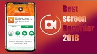 2018!{Hindi}||Best Screen Recorder And Video Editor Application||Best Video Editor For Android
