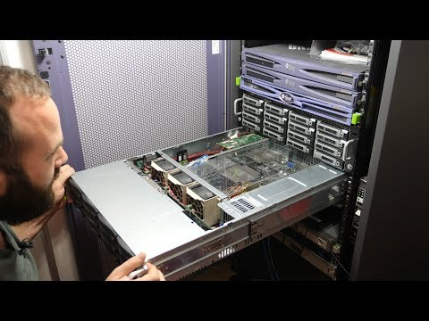 Building a Freenas Server with Enterprise Hardware