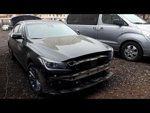 Hyundai Genesis Repair Difficulties. Сложности ремонта.