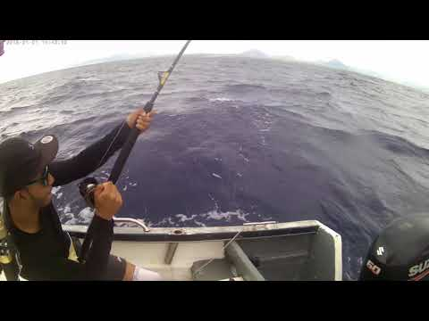 Jigging and trolling.. offshore