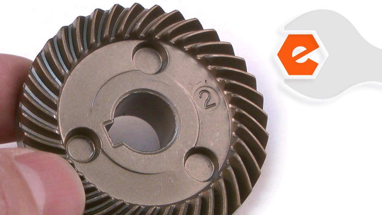 Grinder Repair - Replacing the Spindle Gear (Makita Part # 227505-7)