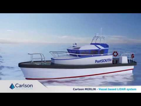 Unboxing the Carlson Merlin | Vessel-Based LiDAR Mapping System
