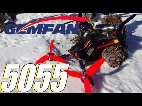 Gemfan 5055 Hulkie Review : My 2018 Racing Prop!
