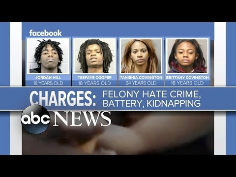 Facebook Live Torture Video    4 Teens Face Charges