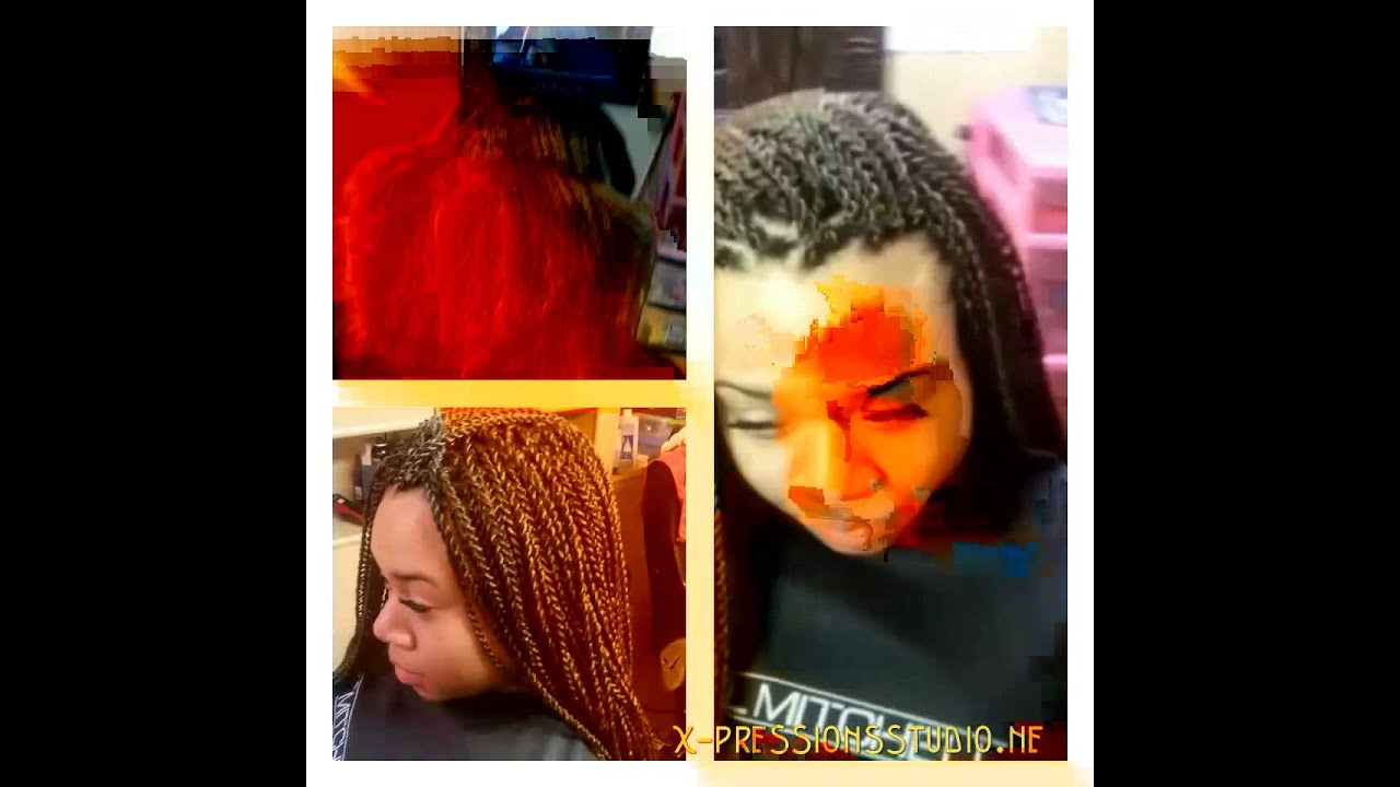 Crochet Box Braids Bobbi Boss : Crochet braids pre twisted Senegalese Bobbi boss - YouTube