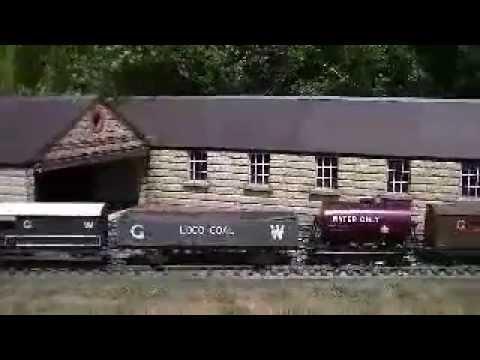 The Garden and Woodland railway 28/07/13