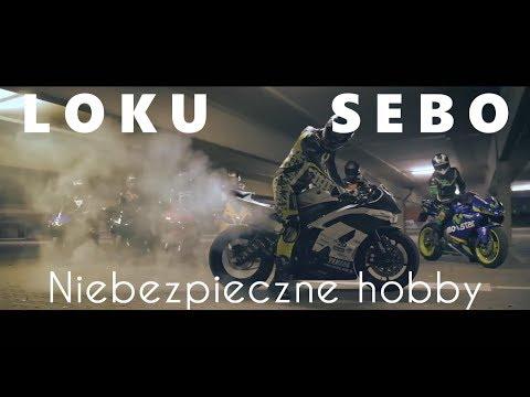 """🎶 LOKU X SEBO - """"Niebezpieczne Hobby"""" Rap o Motocyklach prod Nupel Beats"""