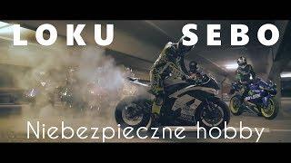 """LOKU X SEBO - """"Niebezpieczne Hobby"""" [Rap o Motocyklach] (prod. Nupel Beats)"""