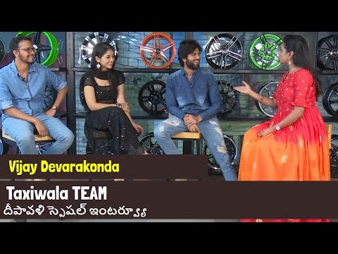 Taxi Wala Team Funny Interview With Suma | Taxi Wala Diwali Special Interview | Friday Poster