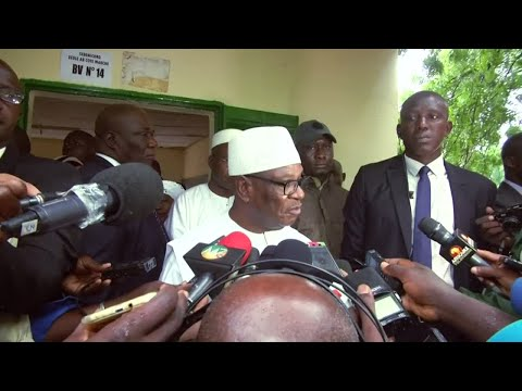 Incumbent President Keita wins re-election in Mali