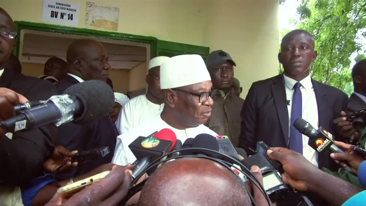 فرانس 24:Incumbent President Keita wins re-election in Mali