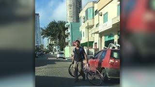Der Mann will betrunken mit dem Fahrrad nach Hause - doch was dann passiert sollte eine Mahnung sein