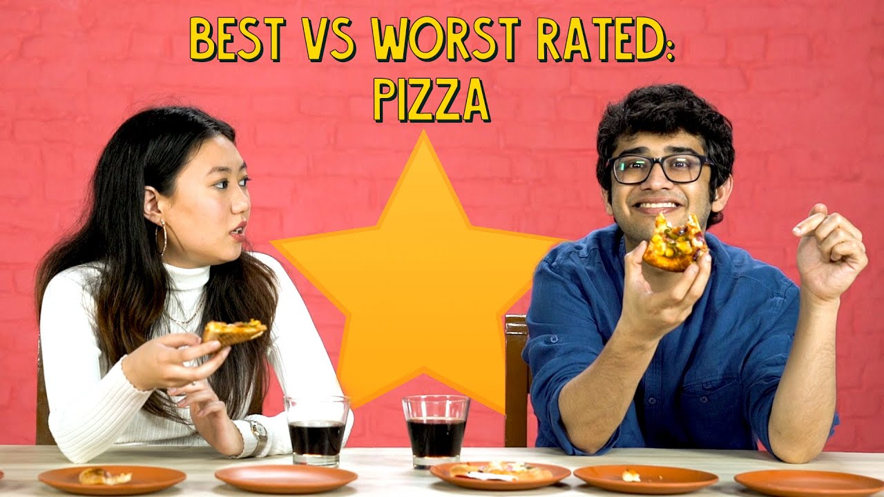 Guess The Highest Rated And Lowest Rated Pizza   Ok Tested