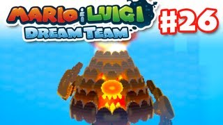 Mario & Luigi: Dream Team - Gameplay Walkthrough Part 26 - Mount Pajamaja Boss (Nintendo 3DS)