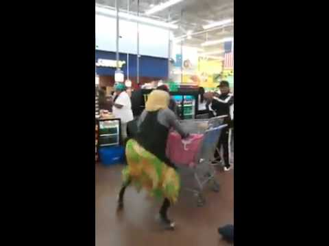 Old Lady Does the Food Stamp Dance