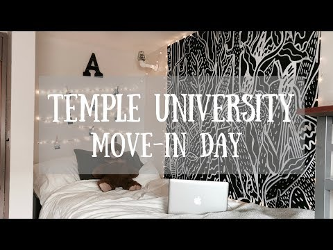COLLEGE MOVE-IN DAY | TEMPLE UNIVERSITY