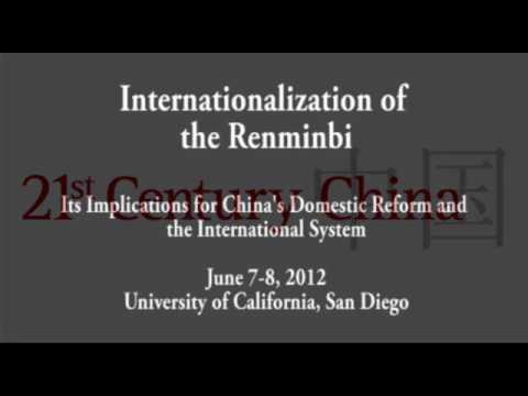 Michael Pettis: The RMB and Chinese Rebalancing